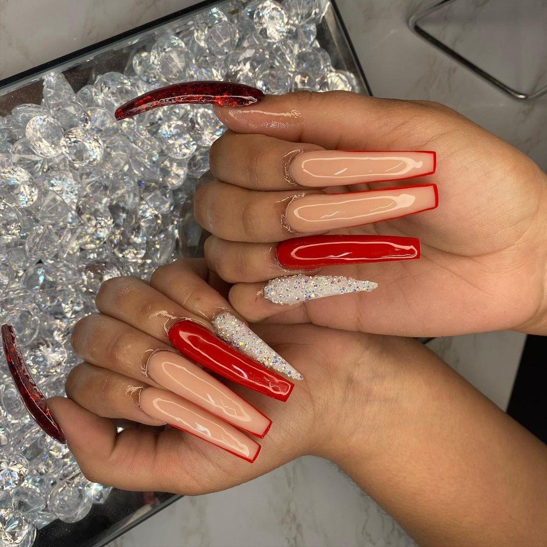Hình ảnh bộ nails dài miễn phí tải về , hình ảnh cực đẹp